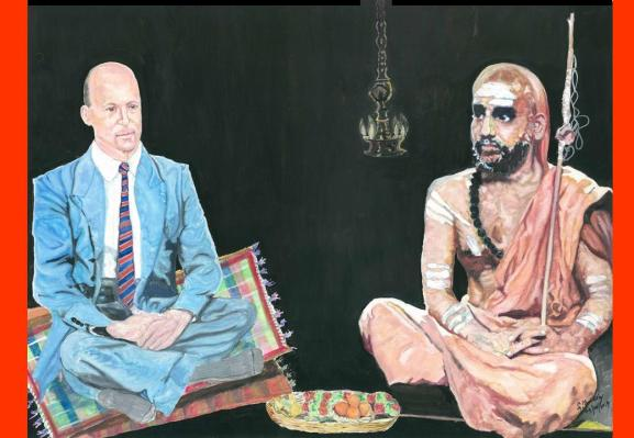 40 Mahaperiyava with Paul Brunton 04082014