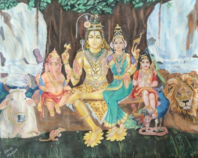 Shiva Parivar – Sage of Kanchi