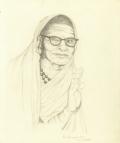 Kanchi Periava - BN Painting