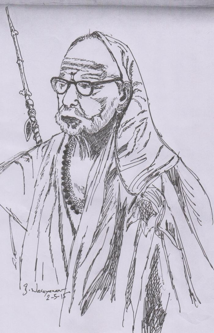 MahaPeriava_pencil_sketch_BN