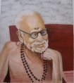 MahaPeriava_smile_BN_painting