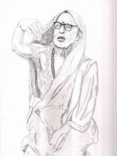 Periyava Sketch Sudhan