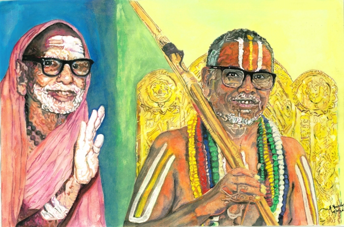 Mahaperiyava and Ahobila Mutt Jeeyar Swamigal.jpg