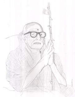 Periyava_folded_palm_dhandam_drawing_sudhan