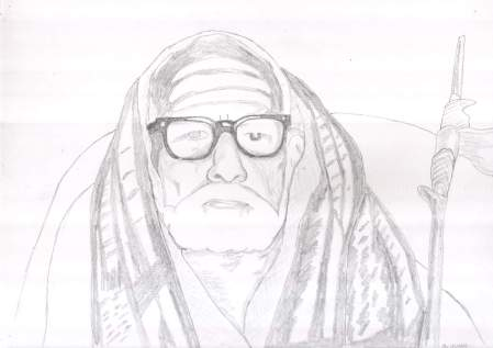 Periyava_sitting_closeup_drawing_sudhan
