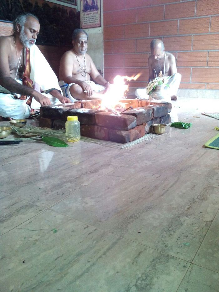 Thiruvengadu Periyava Jwala Homam