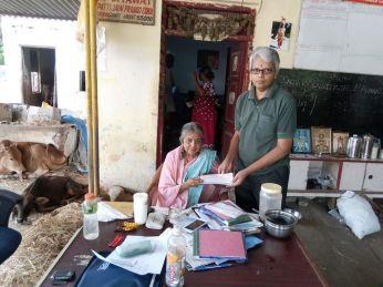 Dr Sadhana Rao Donation