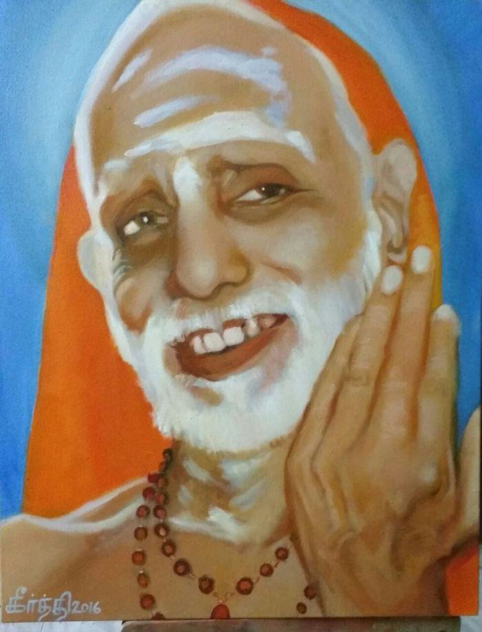 Maha Periyava Periyava Drawing