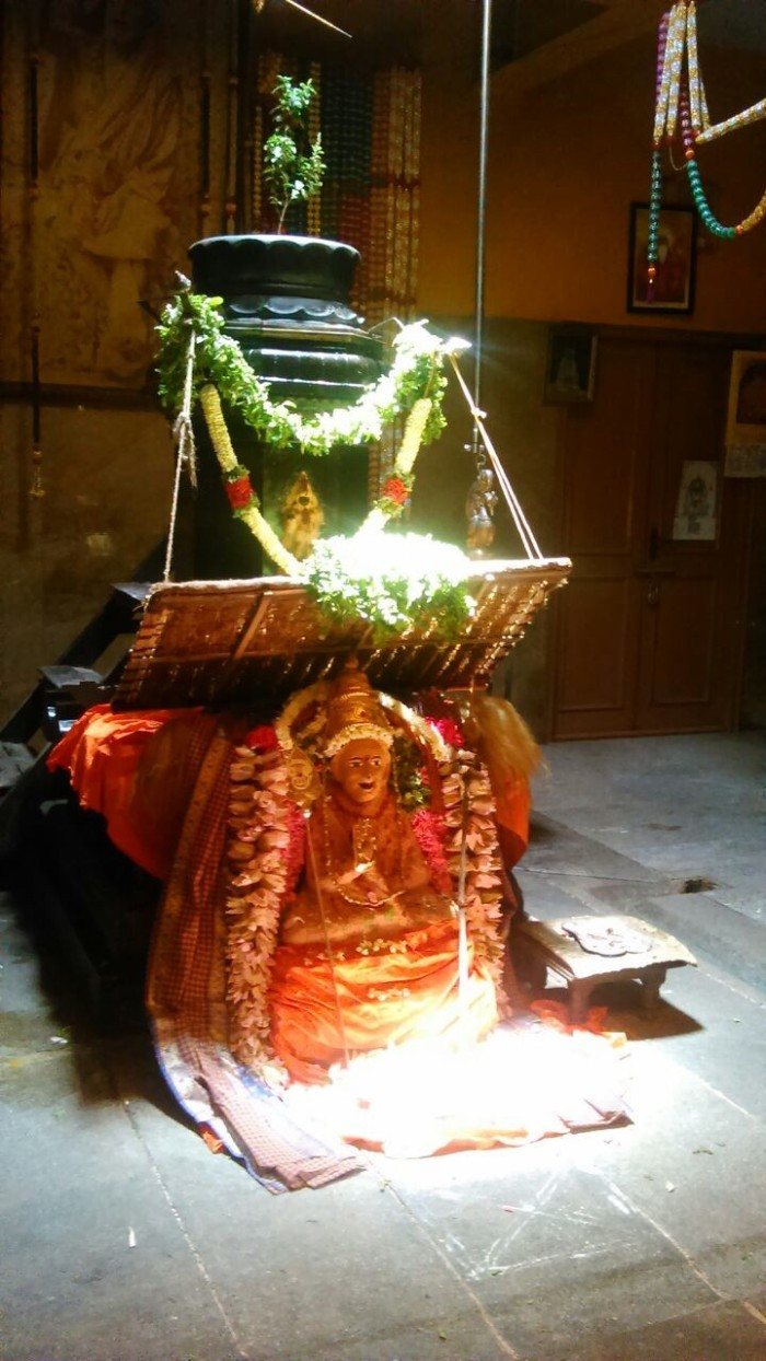 Periyava in Red Color-1
