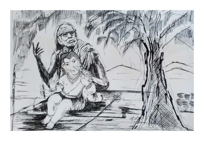 Vinayaka & Maha Periyava