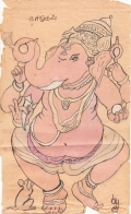 Vinayaka--my first W.C painting