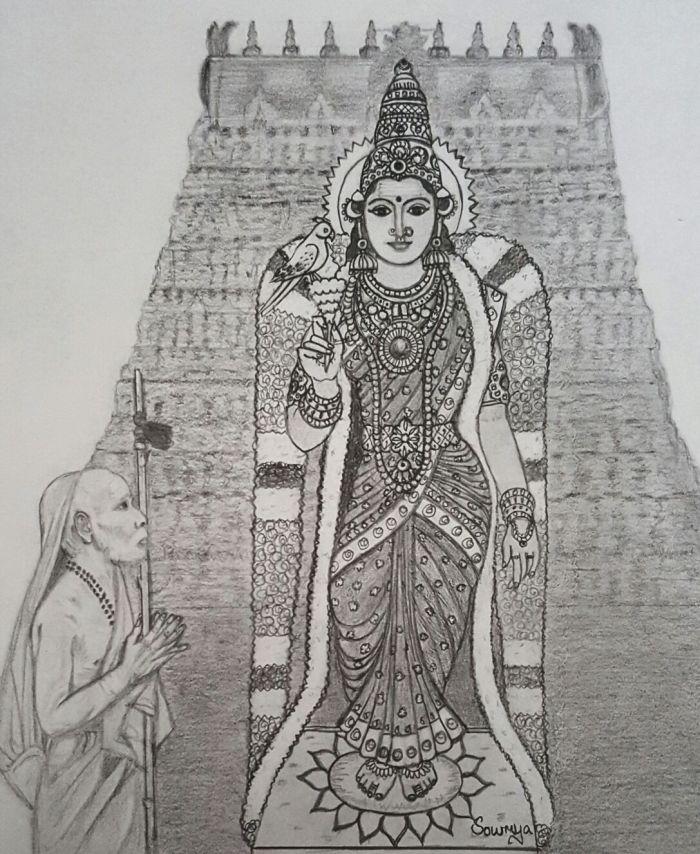 madurai-meenakshi-and-periyava