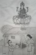 sri-sankara-and-mahalakshmi