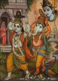 krishna-carrying-shivalinga