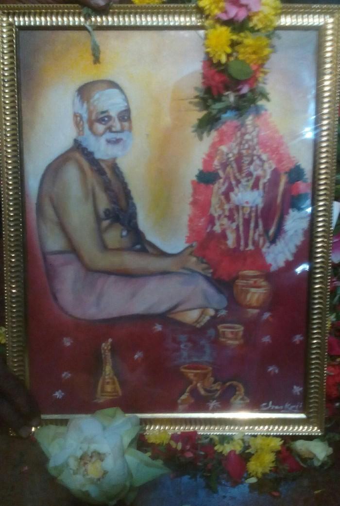 hh-damodhara-swamigal-painting-sankaranarayanan