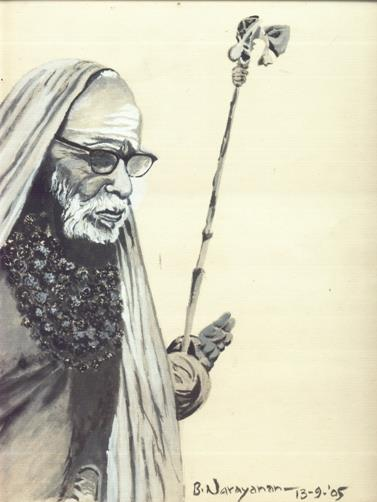Periyava-drawing-BN
