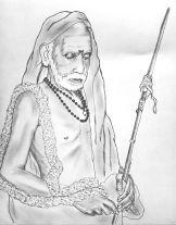 Mahaperiyava-sketch-sudhan