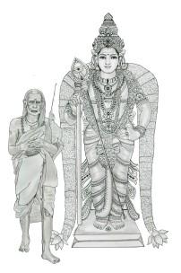 Periyava-Murugan-Sketch-Sudhan