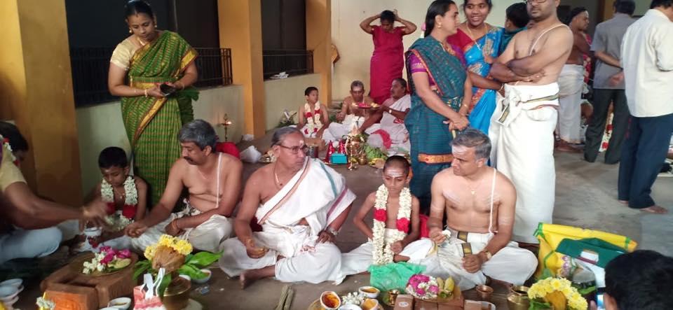 Samashti Upanayanam in Kanchi matam – Sage of Kanchi